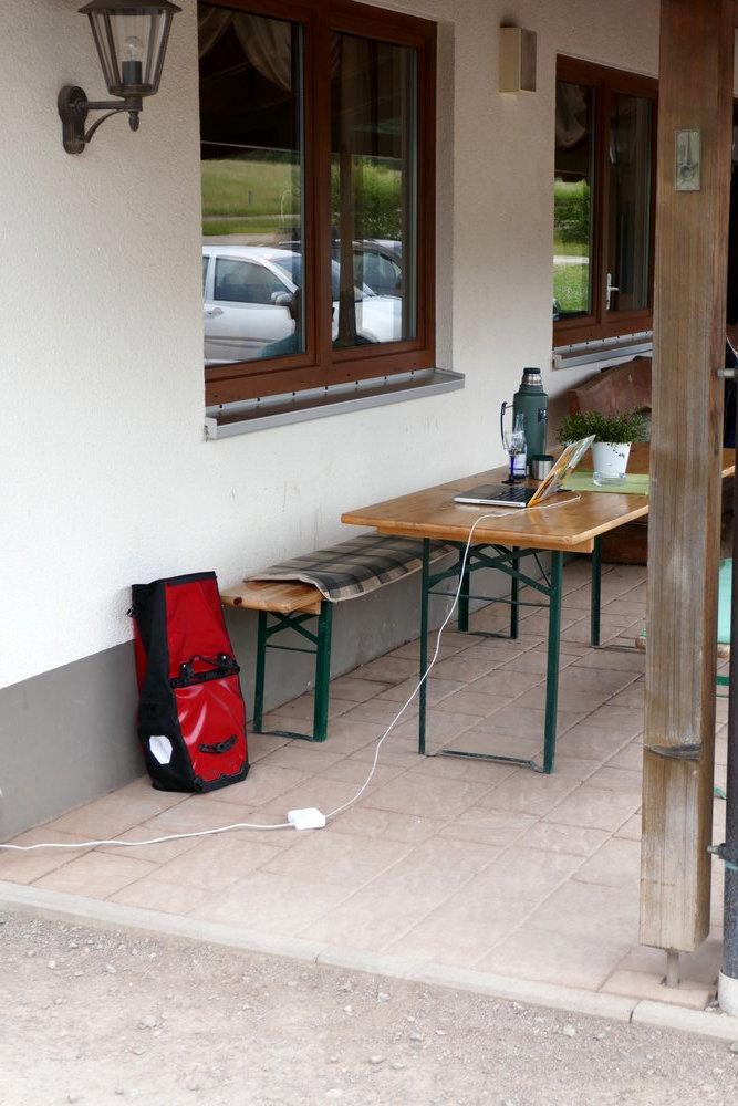 Das mobile Büro ist da wo ads WIFI strahlt