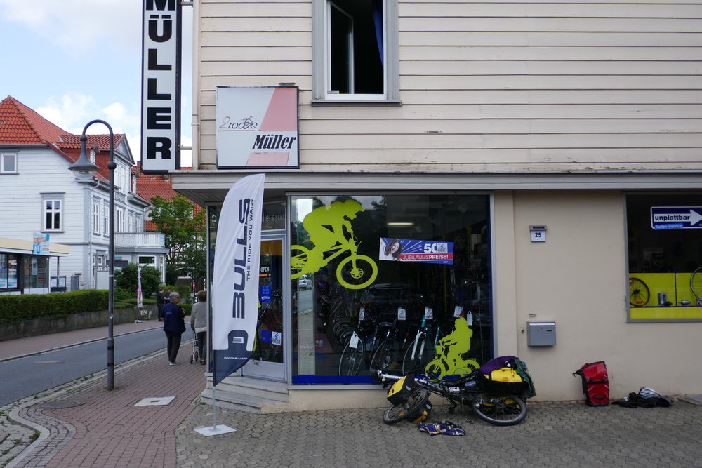 Fahrrad-Reparatur bei Zweirad Müller
