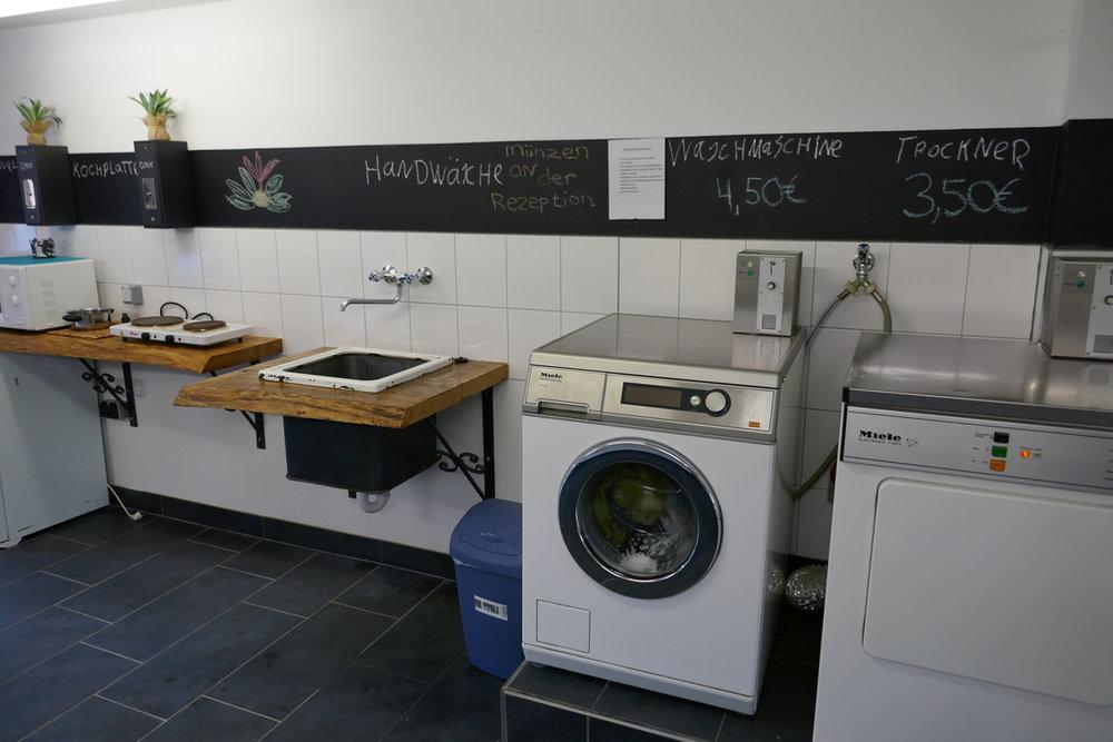 Koch- und Waschbereich