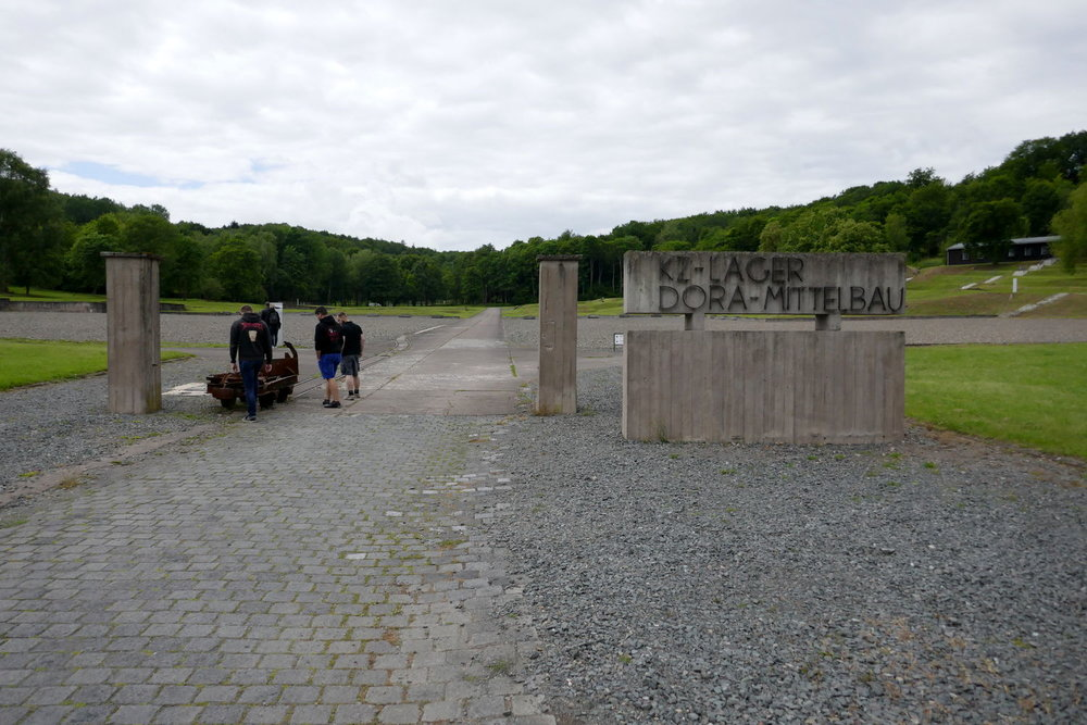Der Eingang zum Häftlingslager