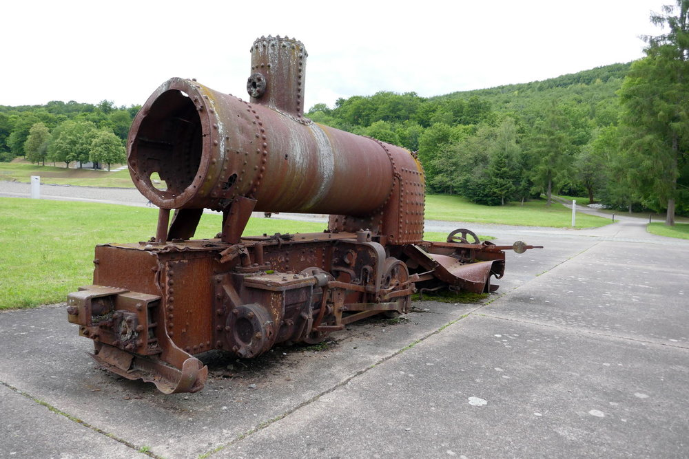 Reste der Lager-Eisenbahn