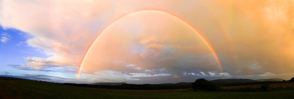 Regenbogen - Entschädigung für doofes Wetter