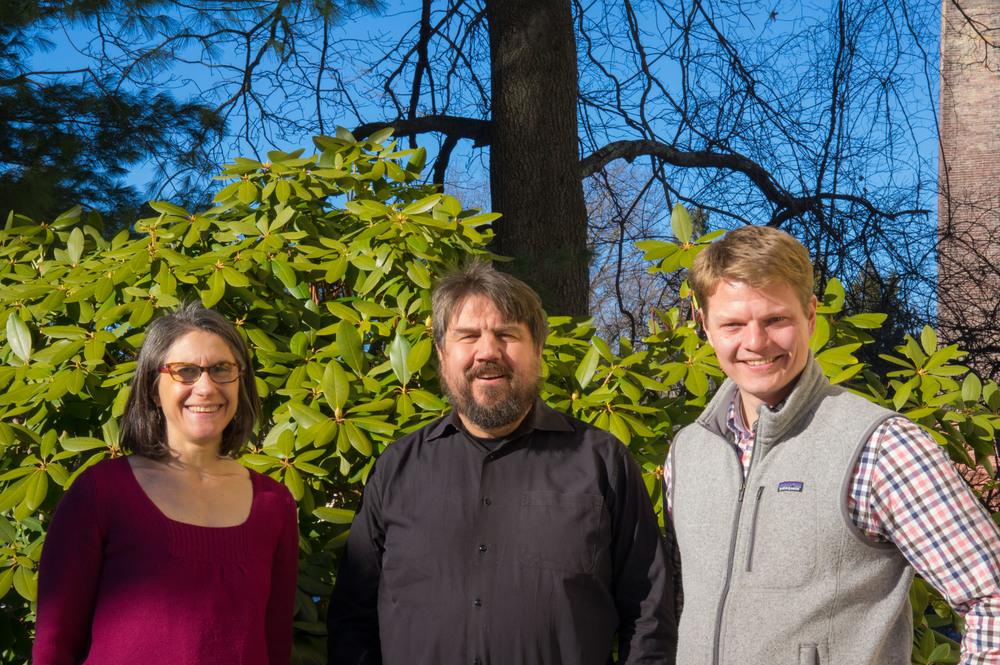 The Green Engineer Principals: Sarah Michelman, Chris Schaffner, and Erik Ruoff.