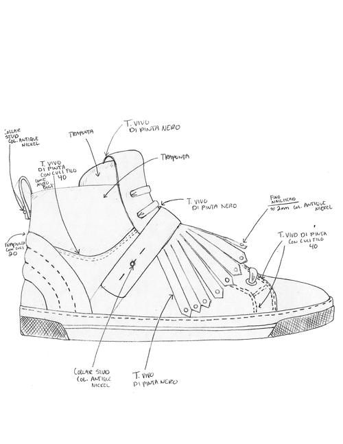 Pre Fall 2014 Mj Sneaker Trevor Houston