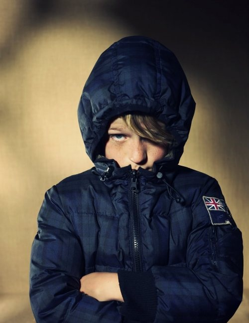 Printed Puffers Let Boys Express Themselves even when It's Cold Outside!