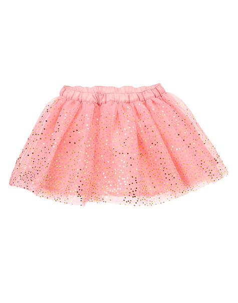 This  Gymboree Sparkle Tutu Skirt  is the perfect more affordable option if you can't get the Stella McCartney Gold Dot Tutu out of your head (I know I can't).  This Tutu is only $17.99, which is an amazing price for such a Fabulous Tutu! Your Little Princess will be twirling all day in this Tutu with Soft layers of Tulle and tiny allover Glitter Dots that give it Extra Shimmer.