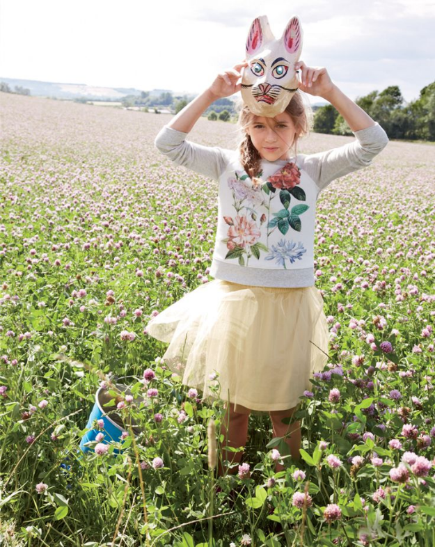 J.Crew November Style Guide Features the Tippy-Toe Tulle Skirt as well as a Woodland Rabbit Mask…. Tutu Cute!