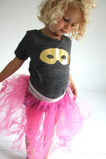 This  ATSUYO ET AKIKO Tutu  puts the play back into Dress Up.  ATSUYO ET AKIKO  is a Brooklyn-Based Brand, and their clothes are made-in-the-USA!  I absolutely love the quirky playfulness of this brand; you can get this Tutu on their web-site or at  J.Crew.com . I love how the Tutu is being worn with a Cat Mask graphic t-shirt…  absolutely Tutu Cute!