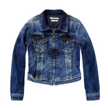 If you are Looking for a Girly Denim Jacket option for your Daughter, this Scotch Shrunk Girl's Denim Jacket with Embroidery is a Cool Option. This Denim Jacket is an all-year-long favourite and features embroidered details on the front. It is made of Cotton & Elastane, giving it just enough comfort stretch to have a more Girly Fitted Shape.