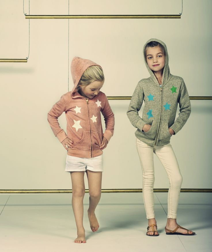 Hoodies are perfect for Layering and are Super Cozy & Cool in Allover Star Prints!