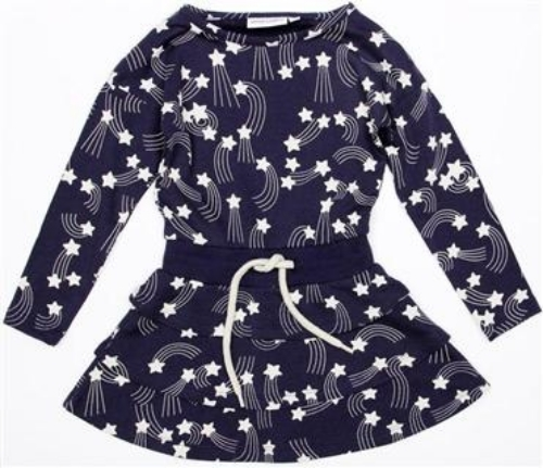I am in Love with this  Star Dress from the cool brand Mini Rodini. This Allover Star Printed Dress is just as cute as it is comfortable, is perfect for everyday wear, and is also Triple Axel Ready with its Frilly Skirt and Comfy Knit Fabric.