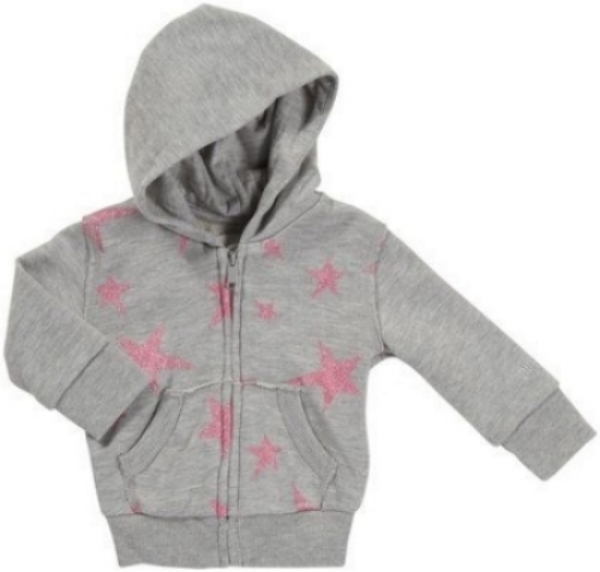 This Diesel  Zip-Up Hoodie  comes in infant and toddler sizes, and your little one will absolutely Love this Allover Star Printed Hoodie with Sparkly Printed Pink Stars. It is the Perfect Hoodie for an All American Girly Girl!