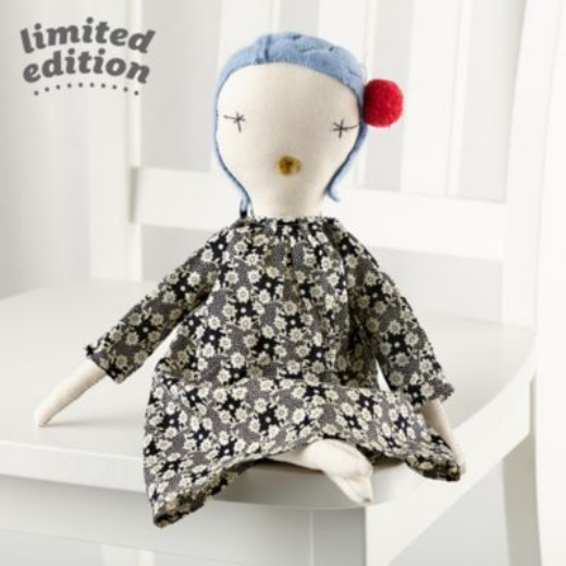 This is one of Jess Brown's Limited Edition Rag Dolls for Land Of Nod.