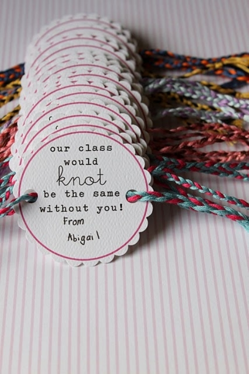 These Friendship Bracelet Valentines can easily be made by keeping the bracelet a basic braid, and the card is a free download file!  I Love these and thank you dandee-designs for such Friendly Valentines!