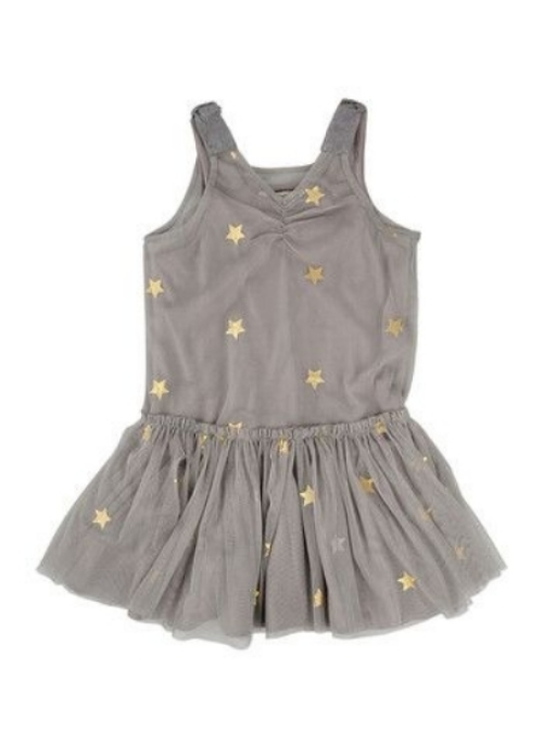 This  Stella McCartney Kids Printed Tulle Dress  is a Gold Medal Worthy choice for your Future Little Ice Princess. It is amazingly adorable with v-neck, satin bow appliqués on the shoulders, all over glitter star print, and tulle pleated skirt! I Love this dress, and so does Victoria Beckham's daughter,  Harper !