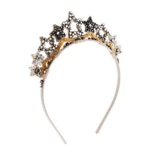 This  J.Crew Girls' Star Crown Headband  is sure to make any little girl feel like an Ice Princess during play time, party time, class time, and anytime in between.