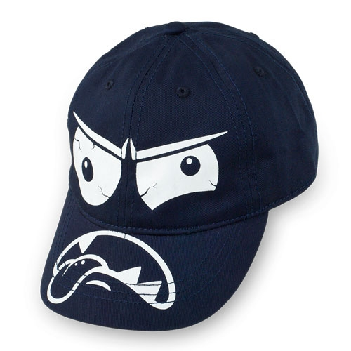 This  Children's Place Monster Baseball Cap  is a great Cap to finish a grand-slam look!  It is a fun Baseball Cap with a Monster Face printed at the front and on the bill.