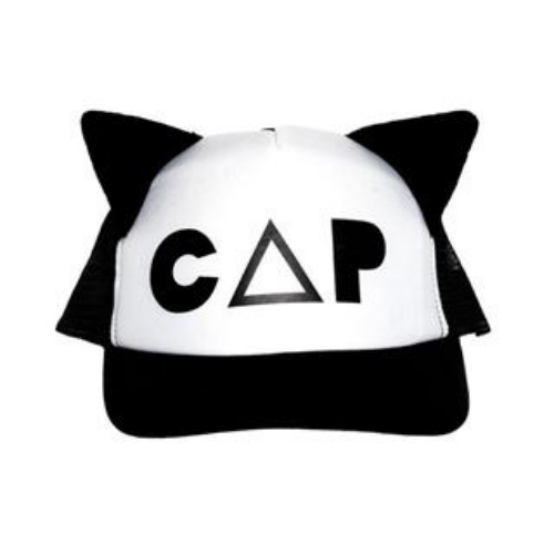 "This  Beau Loves Cat Cap  is Quirky with Cat Ears and the word ""CAP"" printed at the front. Beau Loves clothes and accessories are Unisex and made to mix & match (and I Love Unisex styles for Kids!)."