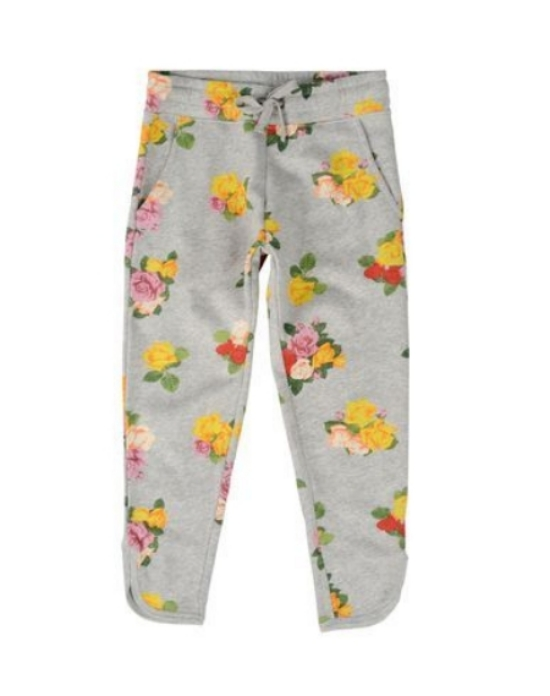 These Stella McCartney EMILIE TROUSERS ($110.00) are organic grey cotton fleece with an  Allover Roses Print.  They have an elasticated waist with drawstring, side pockets and curved ankle with slits.  These Allover Rose Printed Sweatpants are perfectly adorable for your little princess for spring!
