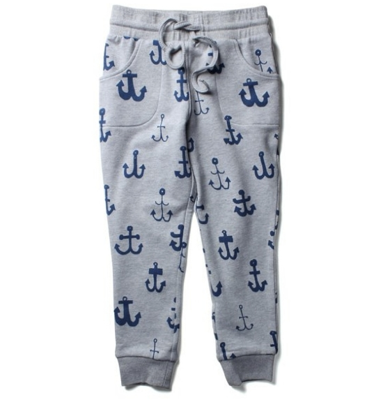 These Littlehorn Anchor Trackpants ($44.95) allow your little one to roll into spring in comfort with these fun Allover Anchor Printed Sweatpants. Your little one can wear them with their favourite tee or hoodie.  My son, Mario, has some Allover Star Printed Sweatpants, but I am loving these for him too!  This Allover Anchor Print is adorable for a boy or for a girl!