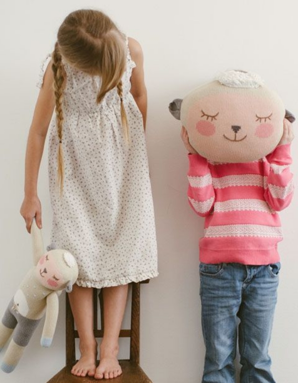 This  BlaBla Kids Wooly Pillow  is absolutely adorable. It is the perfect Pillow Pal for your little one.