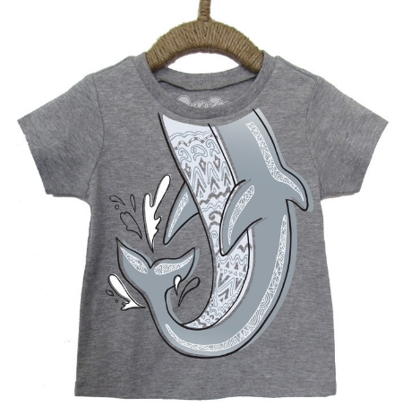 This  Peek-A-Zoo Splashing Dolphin Tee  is a fun and cool educational & interactive kids T-Shirt.