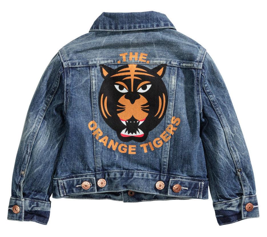 H&M Denim Jacket- BACK $24.95