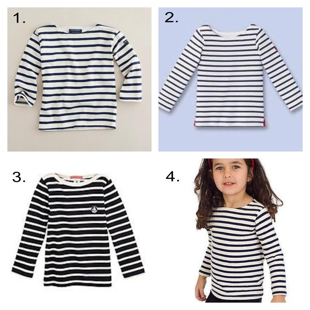French sailor striped t shirt la marini re petit swag for Striped french sailor shirt