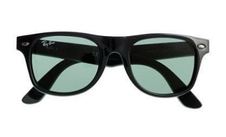These KIDS' RAY-BAN® JUNIOR WAYFARER® SUNGLASSES ($59.00) from J.Crew One are the coolest pair of shades around, Wayfarers have been worn by larger-than-life icons-- JFK and Madonna-- and now your little one. These Sunglasses are identically proportioned to the adult version and offer the same great style and protection from UV rays that the Wayfarer has  offered since 1952.
