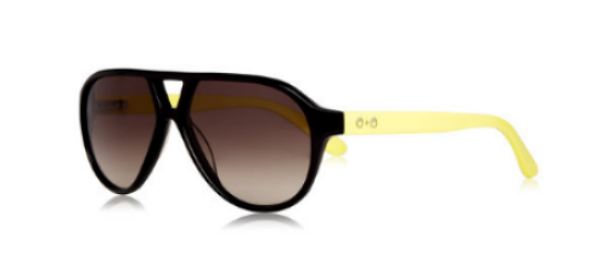 These Sons+Daughters Eyewear Rocky - Black Yellow ($58.00) from See.Saw.Seen Eyewear are a slick aviator style frame with classic style and optic quality.  Sons+Daughters is an eyewear brand for kids focused on STYLE & SAFETY by utilizing premium quality lens to provide crystal clear, 100% UV protection.