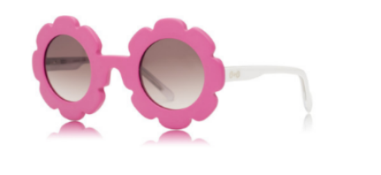 These Sons+Daughters Eyewear Pixie - Pink White ($58.00) from See.Saw.Seen Eyewear make a statement with flower power for  groovy little ladies.  Sons+Daughters is an eyewear brand for kids focused on STYLE & SAFETY by utilizing premium quality lens to provide crystal clear, 100% UV protection