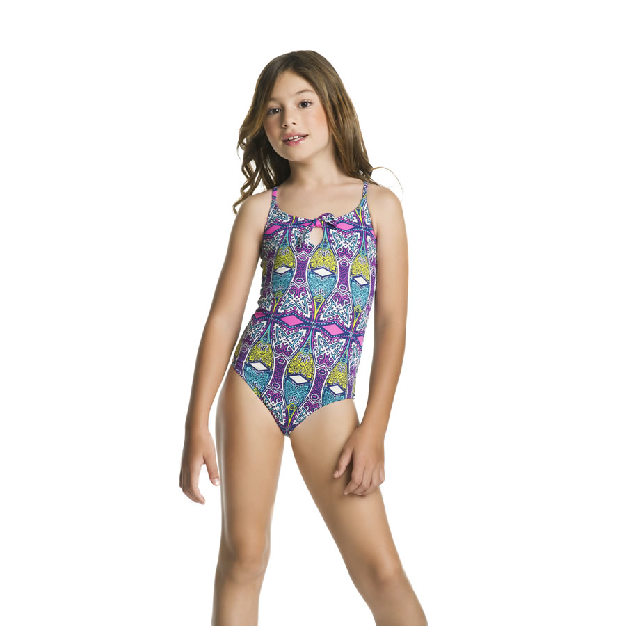 GIRLS' ONE PIECE SWIMSUIT ($92.00)