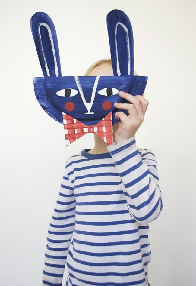Bunny Mask & Stripes