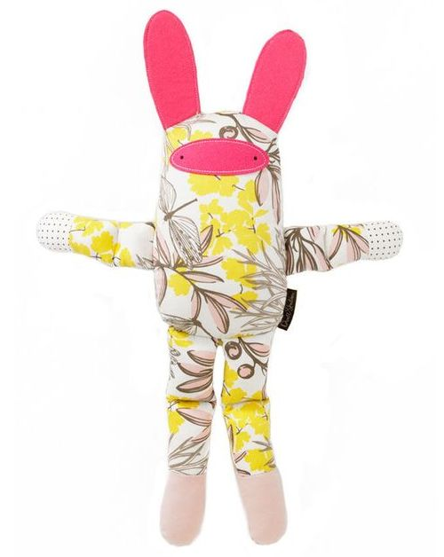 This DwellStudio Bunny Multi Stuffed Animal ($29.99) from giggle is a stylish stuffed bunny that your little one will love. This Bunny will brighten the decor of your child's room and be the perfect companion for your child.