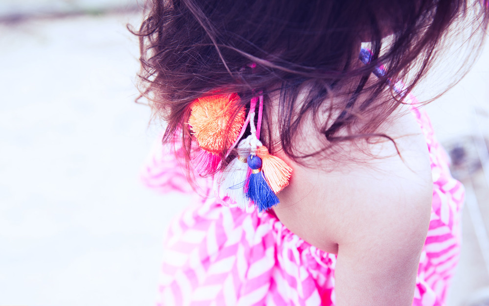 Colorful Tassels & PomPoms