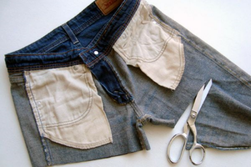 At  refinery29.com  DIY goddess Daniela Jacobs, shares how to create three styles of cut-offs from three old pair of denim jeans she had. Now grab those shears!
