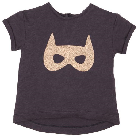 This Cotton:On GIRLS LICENSE SS TEE ($16.95) is a fun BatGirl Mask T-Shirt.  It is only left in a few baby sizes, but even baby's can be Super Heros!