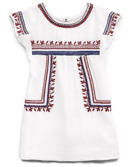 This  Forever 21 Embroidered Peasant Dress  is a Boho Dress with a beautiful Embroidered pattern. It is fully lined yet light weight enough for the hottest of summer days.