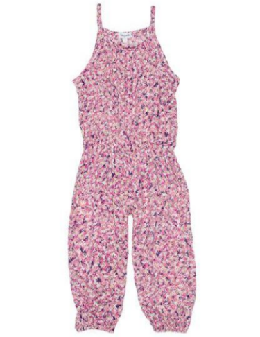 Splendid Wildflower Jumpsuit  - Adorable Jumpsuit with colorful floral print and easy pull-on style.