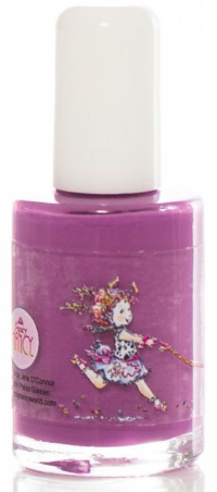 Radiant Lavender is hot this summer and is neither-too purple-nor-too pink, and this Piggy Paint Fancy Nancy Oh So Posh has an extra touch of fancy