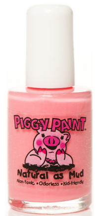 A Blue-Based Pink looks equally cute on fingers or piggies, like this  Piggy Paint Angel Kisses  which is a perfect Soft, Light Pink