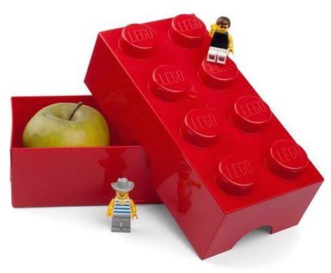 Lego Red Storage Lunchbox