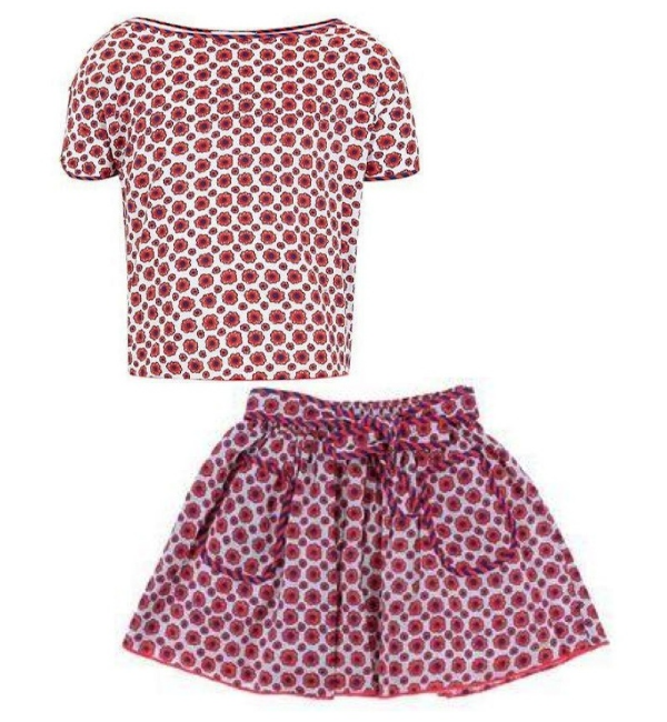 Little Marc Jacobs Girl`S Satin Short Sleeve Blouse $53.95 and Little Marc Jacobs Girl`S Satin Short $65.56 from houseoffraser.co.uk (also available from yoox.com $78.00)