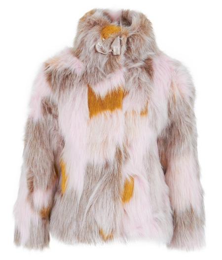 BillieblushPink Faux-Fur Jacket