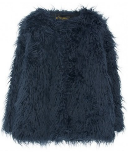 FINGER IN THE NOSE Caly fur style coat