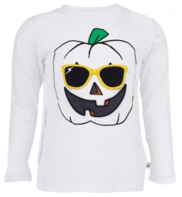 Stella McCartney Kids Tee With Pumpkin Face