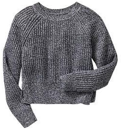 GAP Cropped Marl Sweater