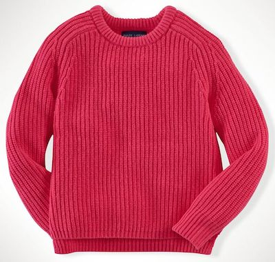 Ralph Lauren CROPPED PULLOVER Sweater