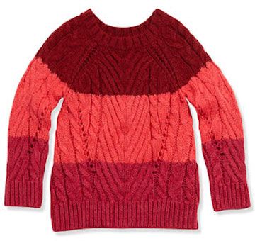 Little Marc Jacobs Chunky Colorblock Sweater