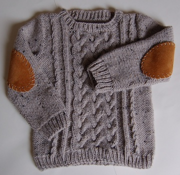 DIY Pattern - Master Charles Sweater by Kate Oates